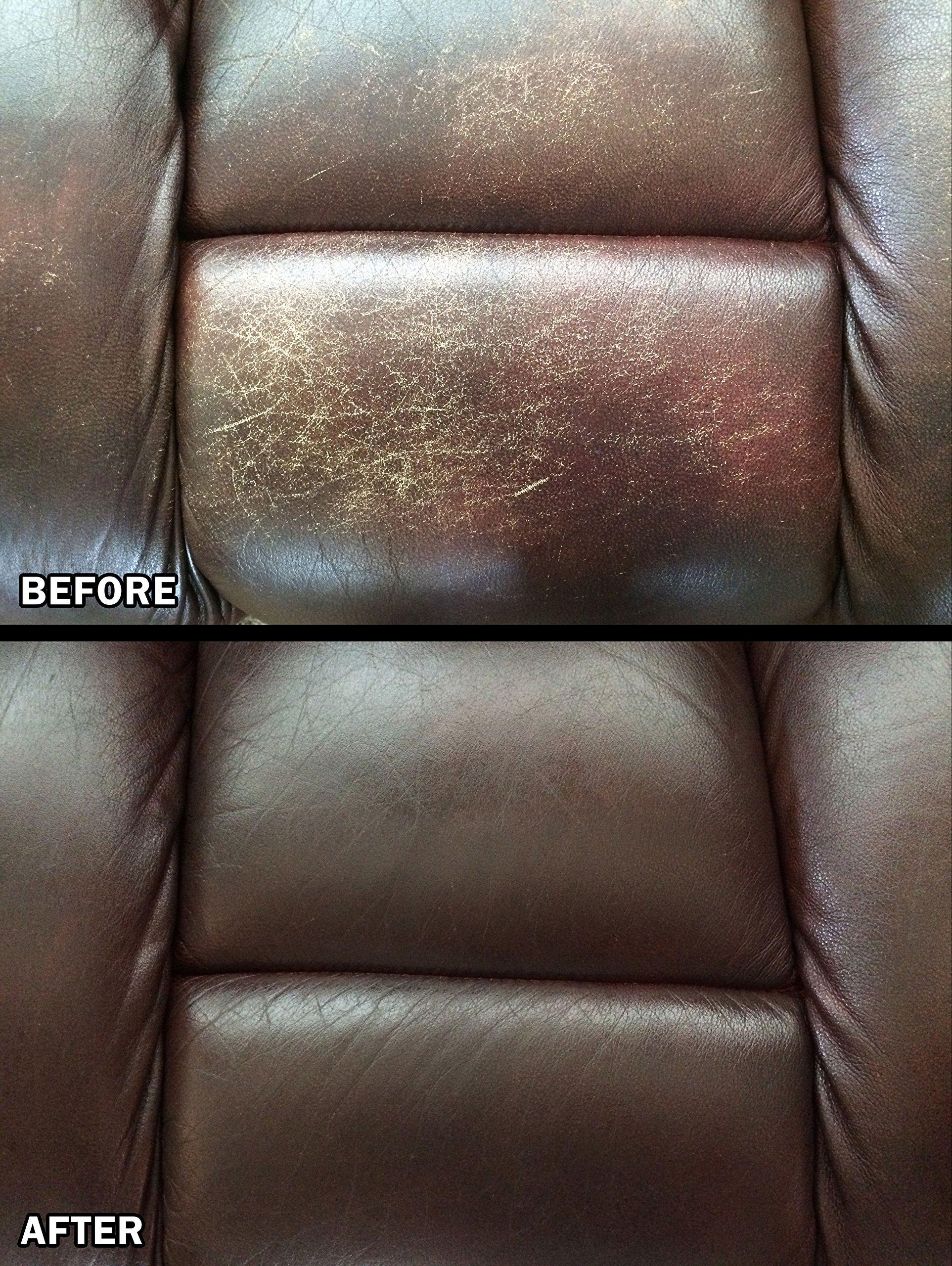 Leather Refinishing Kit Magic Mender Leather And Vinyl Repair Kit ...